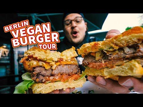 A Berliner's Guide To Vegan Burgers In Berlin (+ McDonald's Vegan Burger Taste Test!)