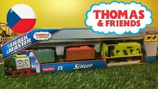 Unboxing Fisher-Price Trackmaster Thomas y sus amigos Scruff (03391 es)