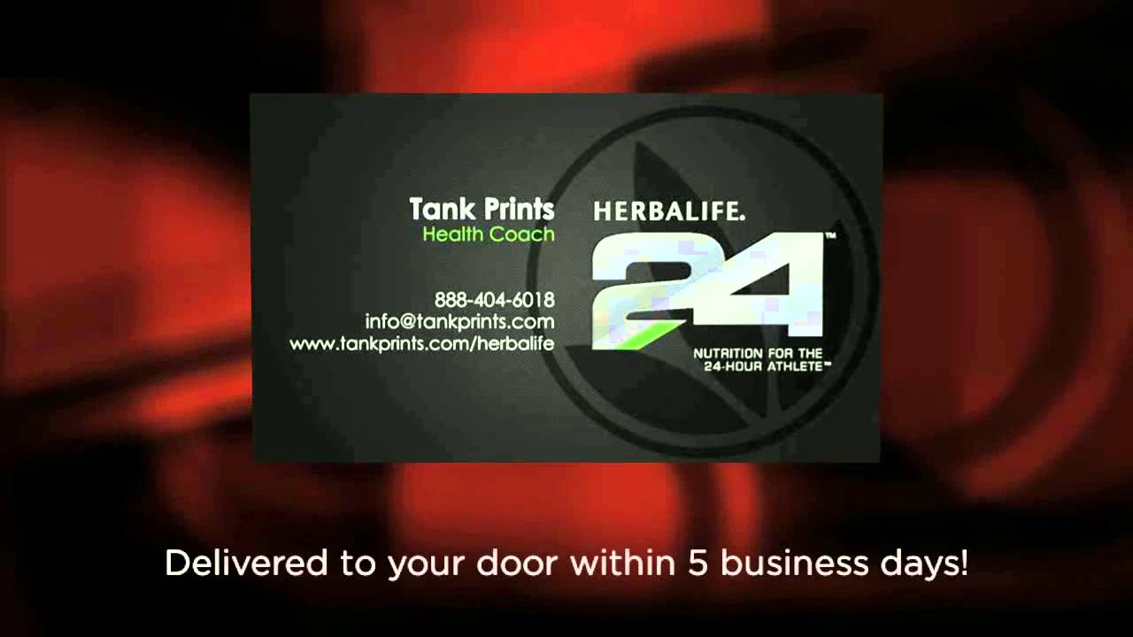 The Best Herbalife Business Card Design - YouTube
