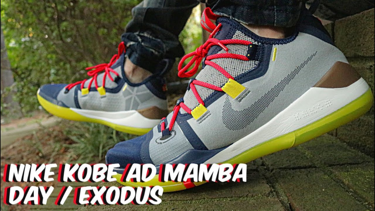 9599392f004f Nike Kobe AD Mamba Day   Exodus Review   On Feet!! - YouTube
