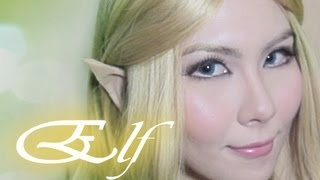 Elf makeup & Easy Elf Ears tutorial