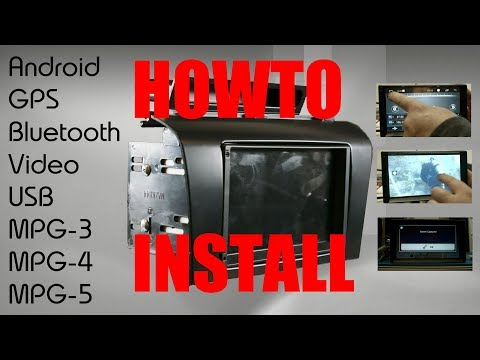 Part1 Of Installing A Cool New Radio In A Mazda 3