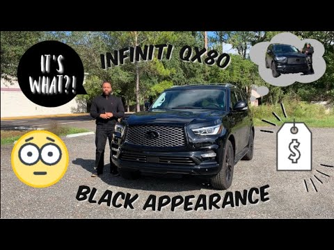 2019 Infiniti QX80 Luxe Black Appearance Package | Review & Test Drive!