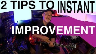 2 Tips to Improve Instantly | Tim Pierce | Guitar Lesson | How To Play