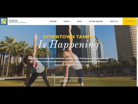 Tour of Tampa Downtown Partnership Website