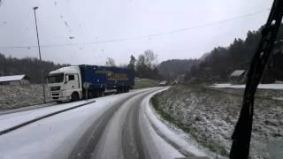 Crazy trucking in Norway #3