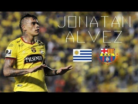 """JONATAN ÁLVEZ - """"El Loco"""" - Goals & Skills - Barcelona SC - 2017"""