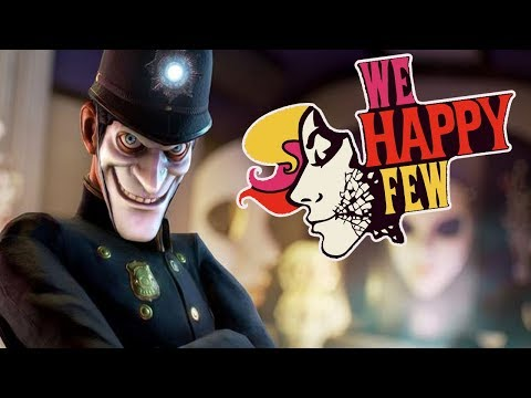 KENAPA MAKIN CREEPY INI GAME - We Happy Few Indonesia #2 - 동영상