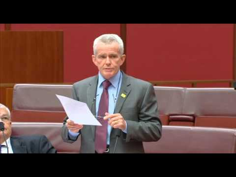 SENATE SPEECH - Australia must follow the lead of the Trump administration on climate.