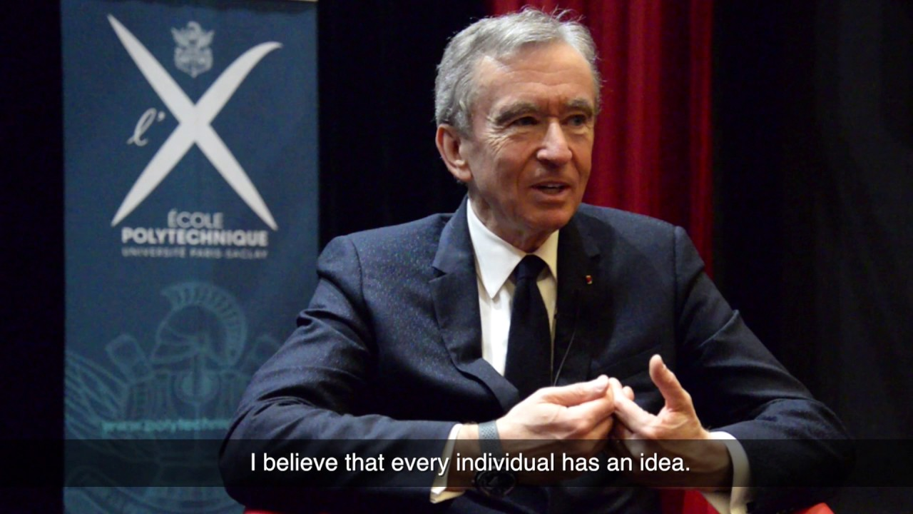 3 questions to Bernard Arnault, CEO of LVMH - YouTube