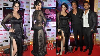 Shahrukh Khan and Sunny Leone TOGETHER at Film Premiere