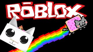 SLIDING AT THE SPEED OF NYAN! - Roblox