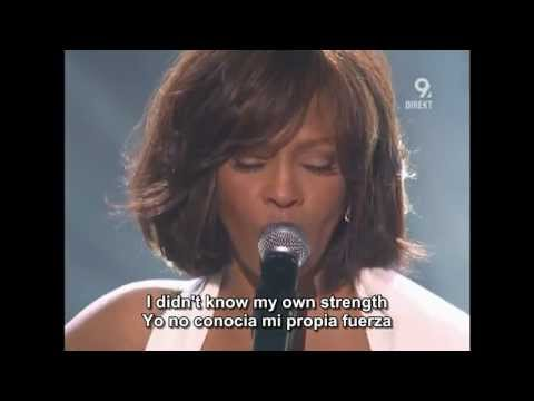 Whitney Houston I Didn't Know My Own Strength Live AMA'09 Subtitle Eng//Spa (HD)