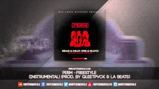 Perm - Freestyle [Instrumental] (Prod. By Quietpvck & LA Beats) + DL via @Hipstrumentals