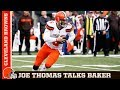 Joe Thomas 'Baker Doesn't Play Like a Rookie' | Cleveland Browns