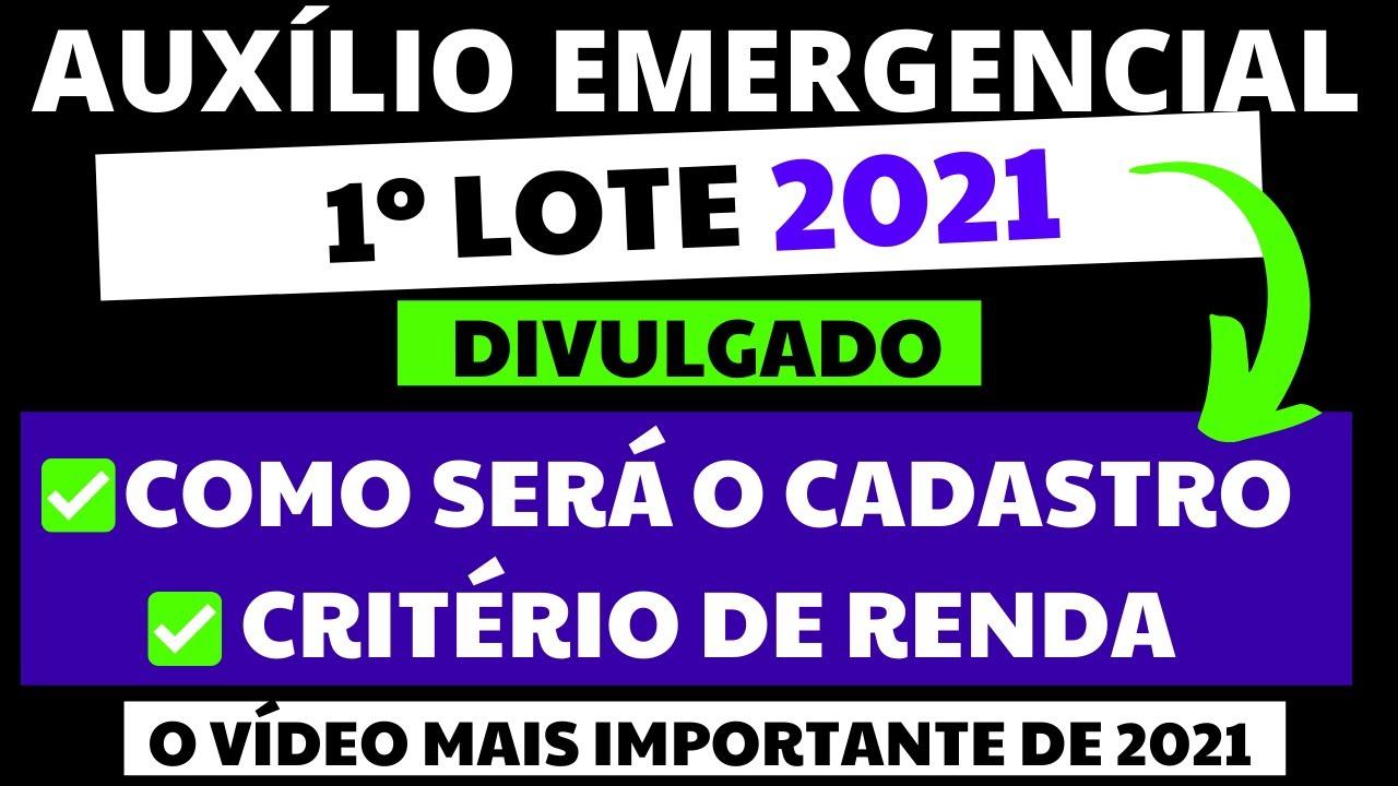 Download ✅URGENTE! DIVULGADO: COMO SERÁ O CADASTRO E CRITÉRIOS DO AUXÍLIO EMERGENCIAL 2021 I MÃE SOLTEIRA