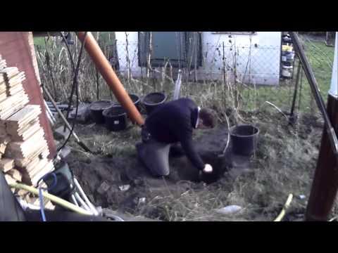 3 hand bohren drill tiefbrunnen brunnanbau gartenbrunnen brunnen well youtube. Black Bedroom Furniture Sets. Home Design Ideas