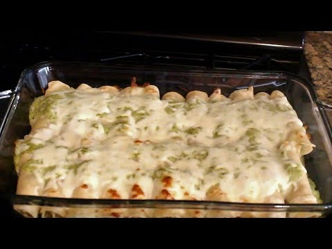 Making Enchiladas Suizas