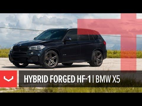 Vossen Hybrid Forged HF-1 Wheel | BMW X5 | Tinted Matte Gunmetal