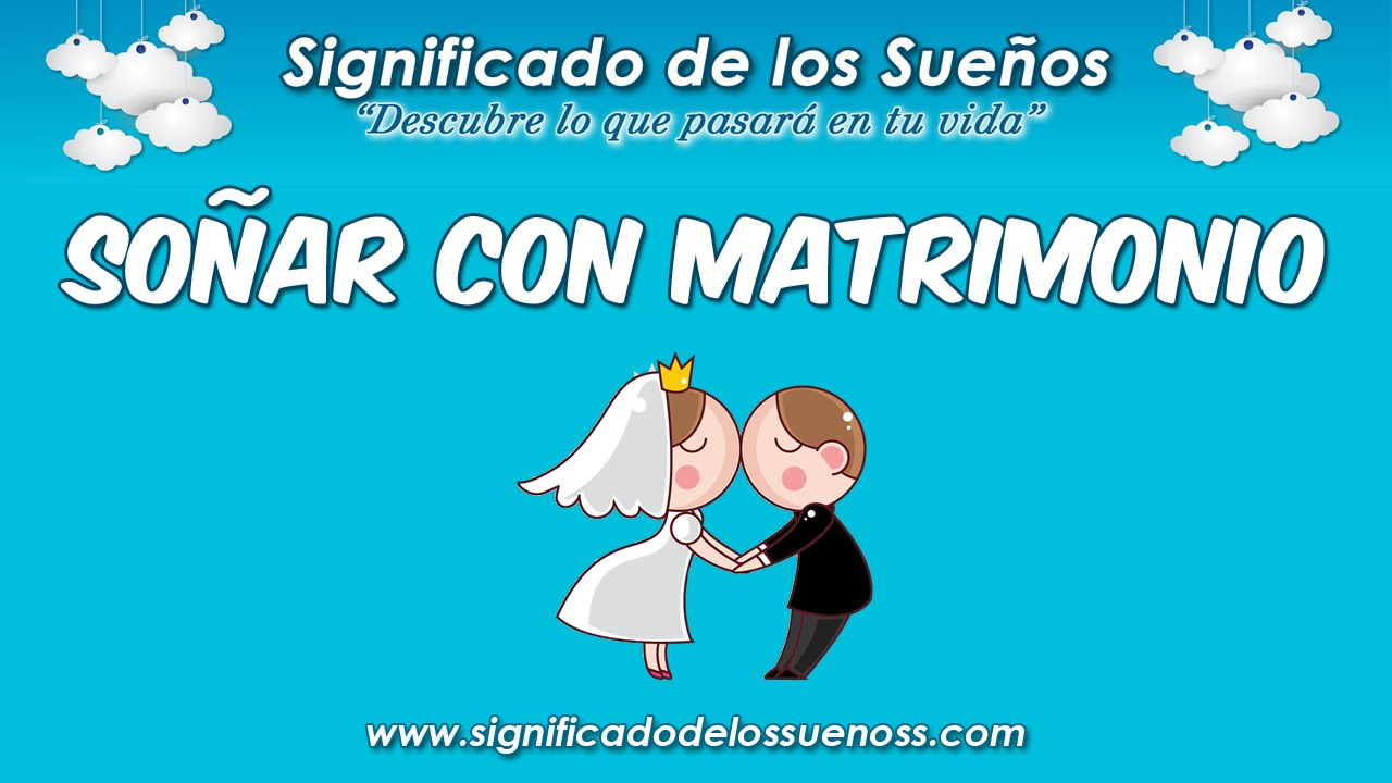 Matrimonio Que Significa : Soñar con matrimonio qué significa