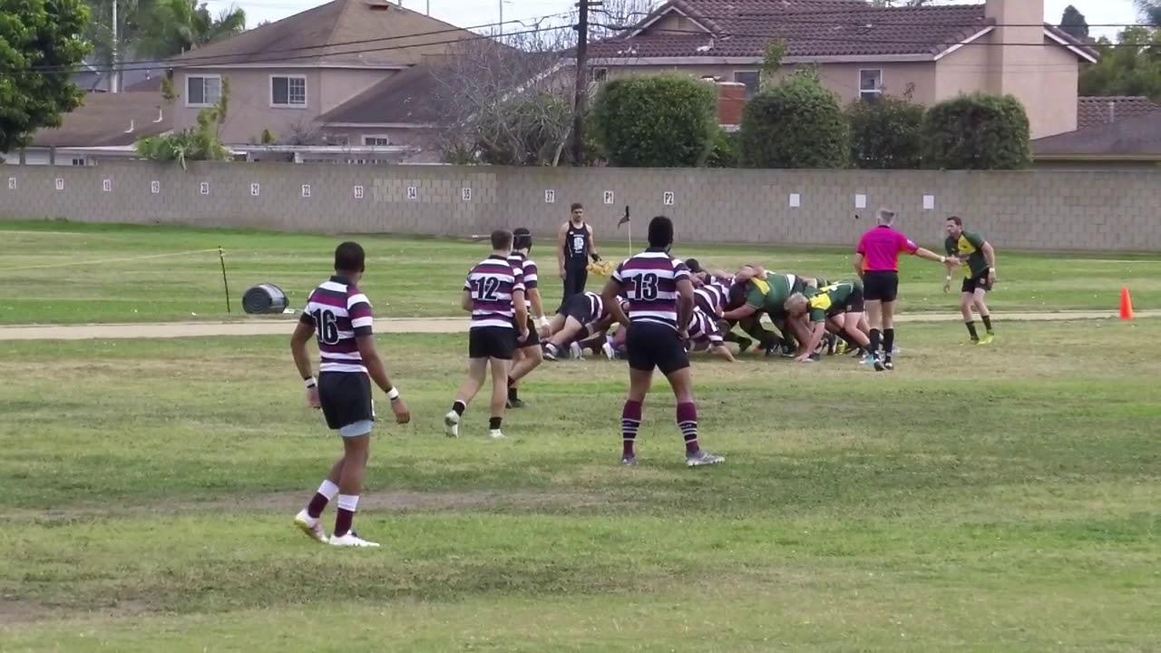 Hb Vs Pasadena 021018 01 Rugby Club Home Of The Unicorns