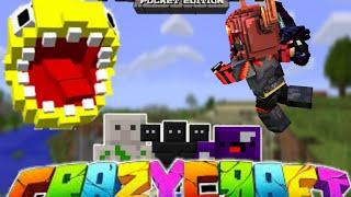 Minecraft pe - crazy craft mod nasıl yüklenir?