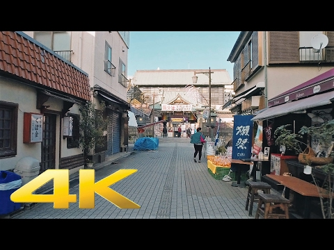 Walking around Monzennakacho and Fukagawa, Tokyo - Long Take【東京・門前仲町/深川】 4K