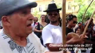 Capoeira na Praça da República SP - Mestre Suassuna