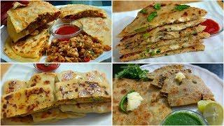 Char Tarah Ke Mazedar Parathe Ki Recipe | Sehri Aur Iftar Me Banayein Ye Mazedar Parathe | Ramadan