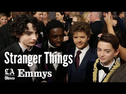 "Emmys 2017: The Kids Of ""Stranger Things"" 
