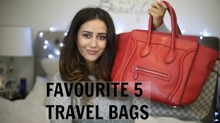 TOP 5 TRAVEL BAGS | Celine, Valentino, LV, Chanel