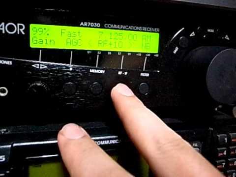 7125kHz Radio Conakry Guinea : AR7030