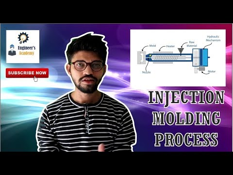 What is Injection Molding Process ?? ||Engineer's Academy||