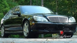 Black on Black 03 Mercedes S600 Sport AMG V12 87k miles For Sale $21900
