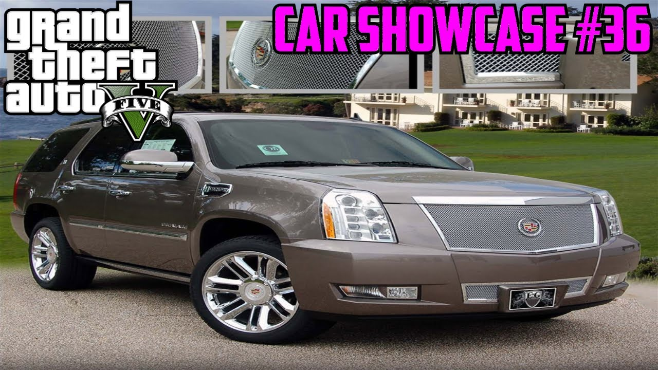 GTA V: Albany Cavalcade SUV (Cadillac Escalade) | Car Showcase #36