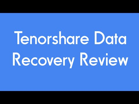 Tenorshare IPhone Data Recovery Review + GIVEAWAY!