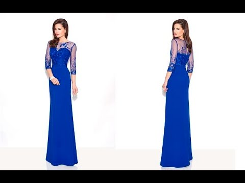 5cdc568342 VESTIDOS DE FIESTA PARA MADRINAS Y DAMAS DE HONOR - YouTube