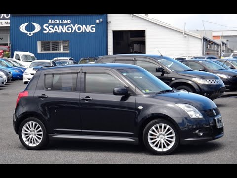 2006 suzuki swift sport 5 door 1600cc vvti petrol automatic youtube. Black Bedroom Furniture Sets. Home Design Ideas