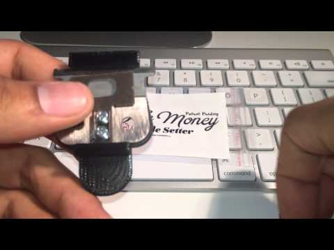 """""""ON THE MONEY"""" 10sec BLADE SETTER  ANDIS BLADE ADJUSTER"""