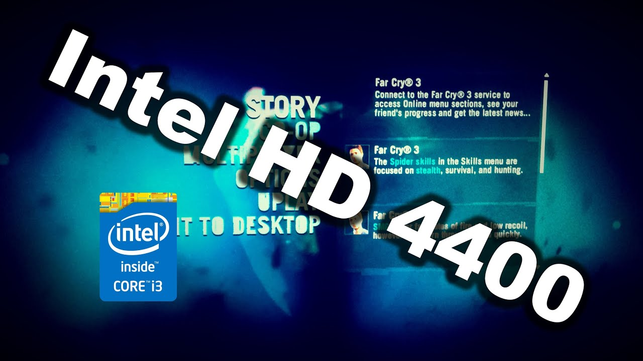 INTEL 4400 GRAPHICS DRIVER DOWNLOAD