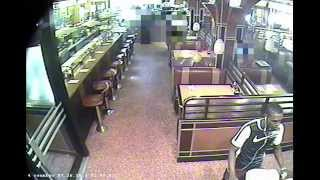 Surveillance Video Of Suspect In City Diner Shooting On Upper West Side