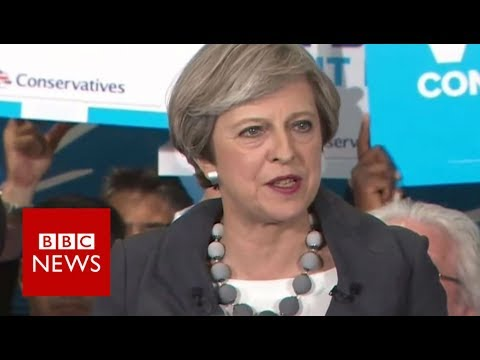 Theresa May: 'Human rights laws could be changed' - BBC News