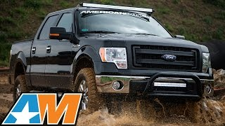 "Ford F-150 3.5L EcoBoost Gains 92HP & 113TQ: Intake/Tune, 2"" Lift, Armor, etc."