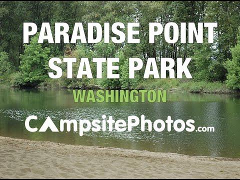 Paradise Point State Park, Washington Campsite Photos