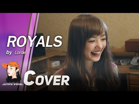 Royals - Lorde cover by 13 y/o Jannine Weigel (พลอยชมพู)
