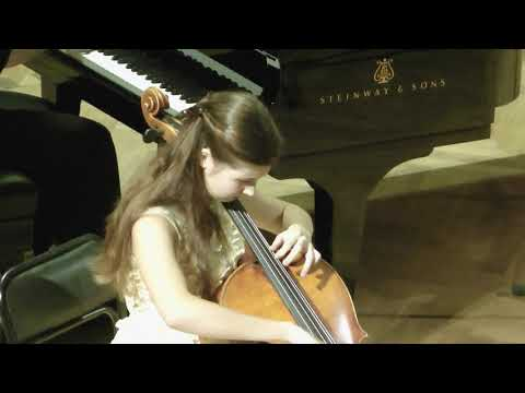 "N. Paganini - Variations On A Theme From ""Moses In Egypt"" - Sofya Khuskivadze-Deeva (14 Years)"