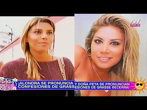 HOLA A TODOS 06/06/16 ALONDRA Y 'DOÑA PETA' SE PRONUNCIAN TRAS LAS CONFESIONES DE GRASSE EN 'EVDLV'