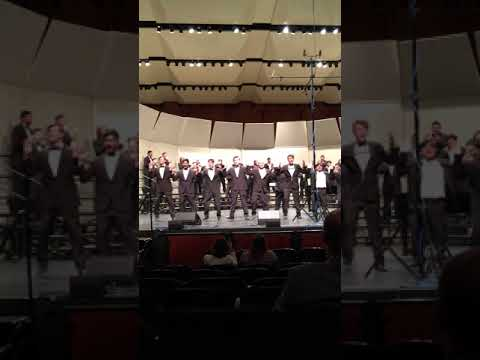 """To Life"" sneak preview of North Mesquite High School Varsity Men's Choir at SWACDA"