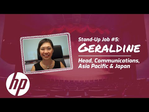 Careers Vlog: Stand-Up Job #5 | Head Communications Asia, Pacific and Japan | HP