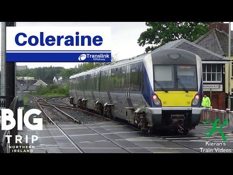 Trains At Coleraine, BDL - 19/5/19